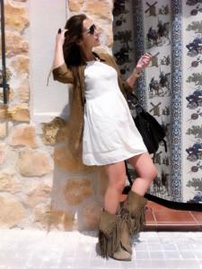 Imagen de Paula para su blog de Elle