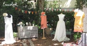 dos vestidos de novia y dos vestidos de cocktail de bebas closet