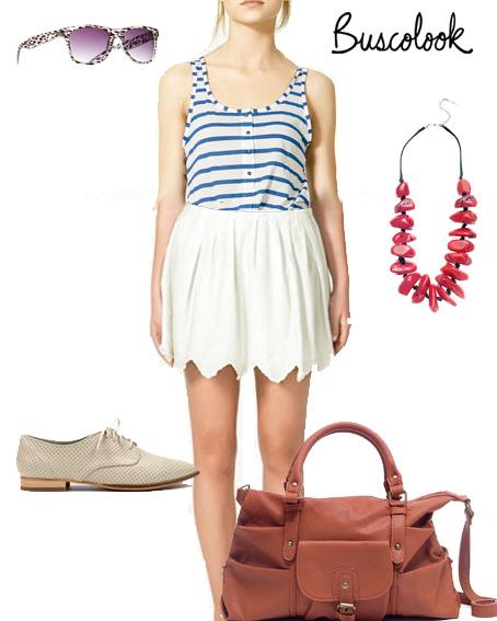 look copia sienna miller verano 2011 con ropa de rebajas