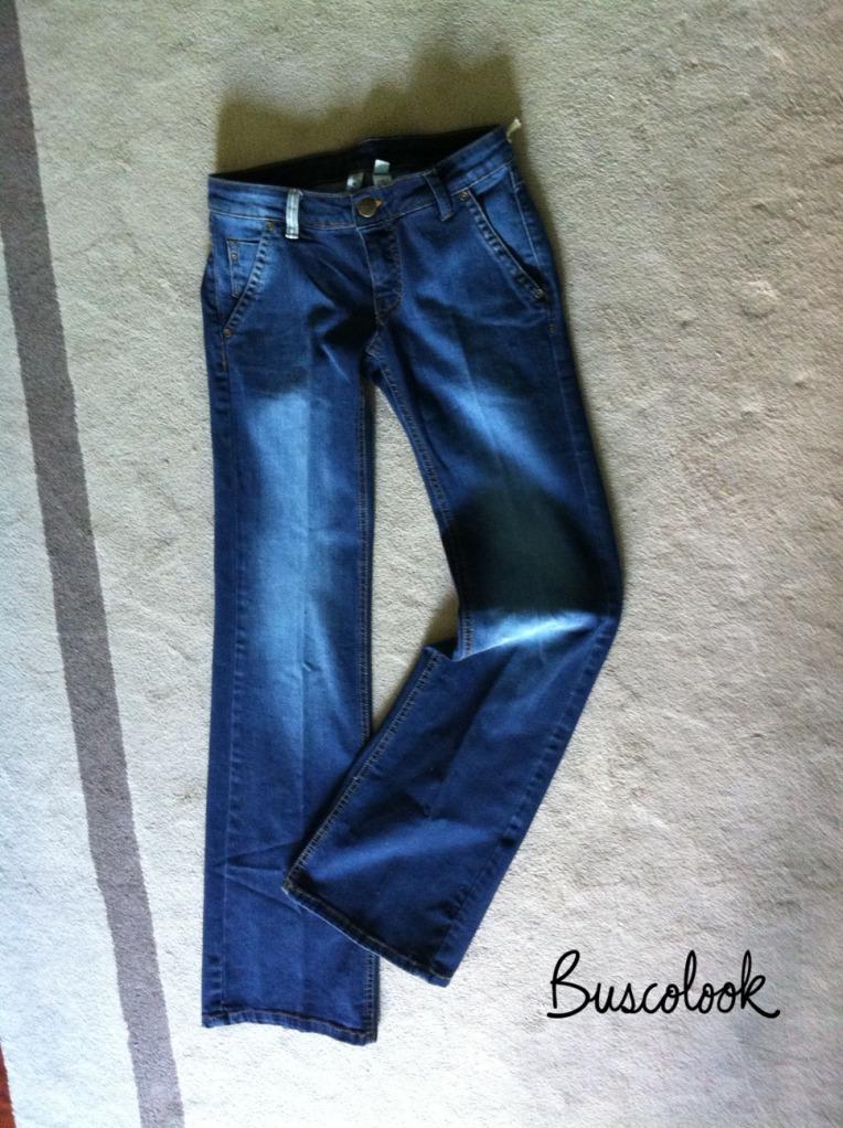 jeans oscuros de campana temporada verano 2011 mango rebajas 9 euros