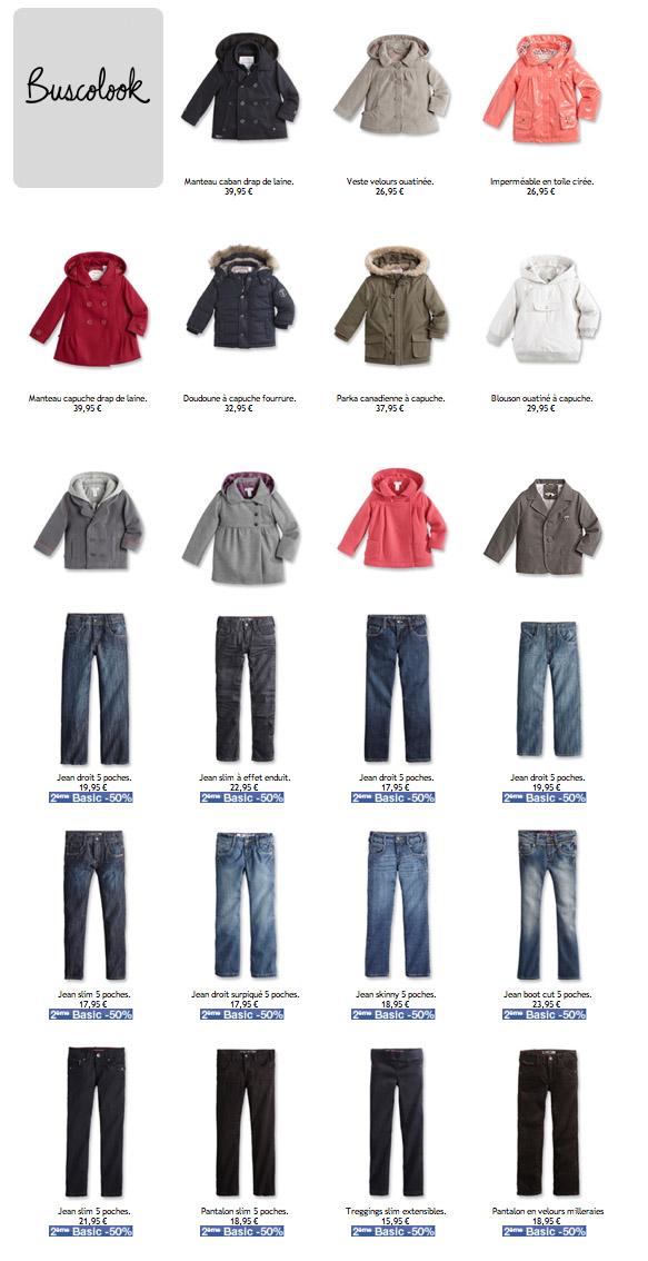 vaqueros abrigos baratos para niños vuelta al cole otoño 2011