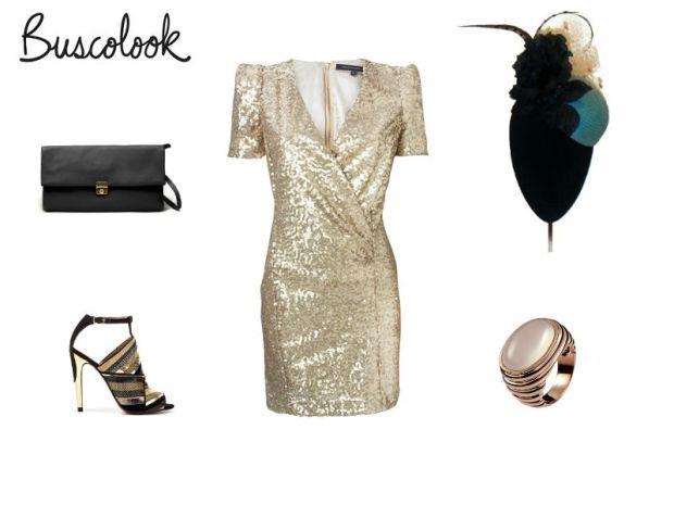 Look boda, zapatos zara, bolso zara, vestido french conecction, anillo aristocrazy, tocado mimoki