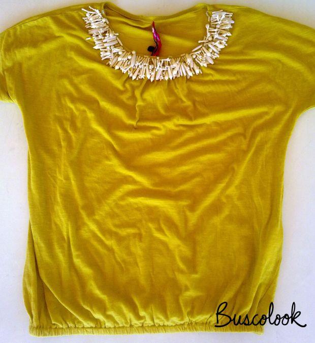 camiseta pistacho, camiseta tintoreto, camiseta mujer