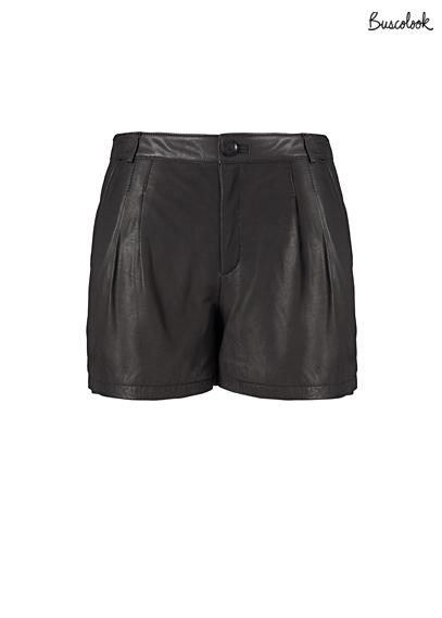 shorts de cuero otoño 2011