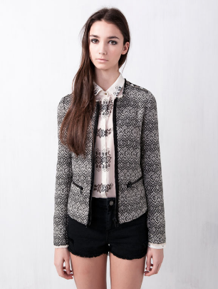 pull-and-bear-blazer-etnica