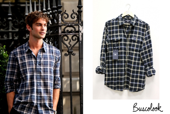 chace-crawford-gossip-girl-camisa-cuadros