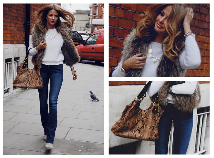 look_chaleco_pelo_jeans_campana_mille_mackintosh