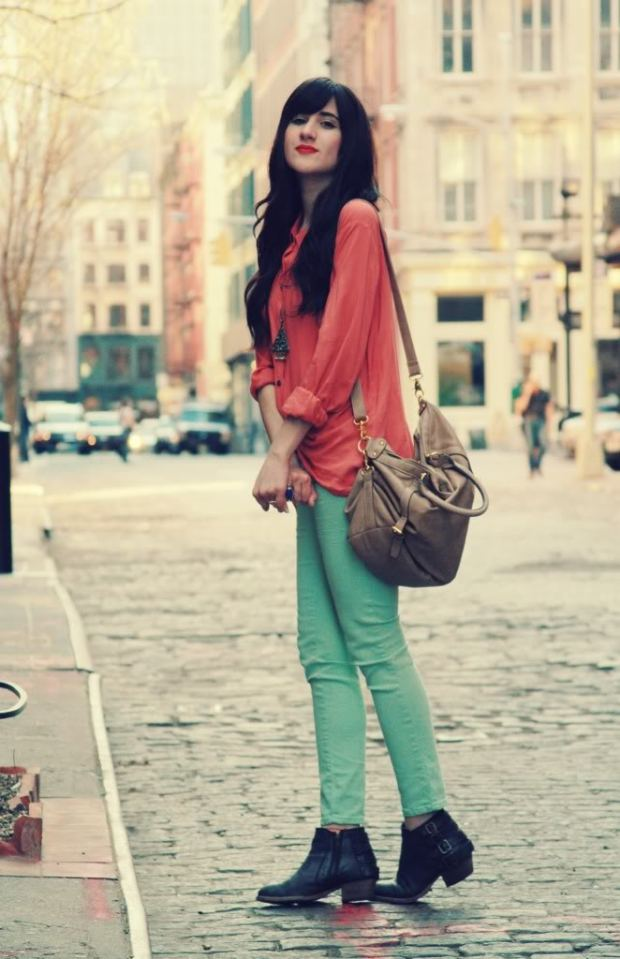 ankle-boots-for-mint-green-pants