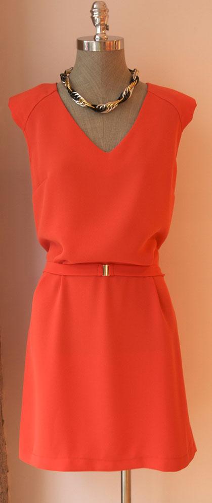 vestido tangerine