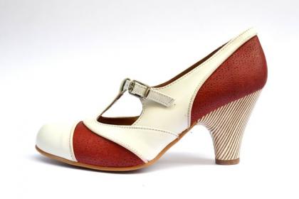 zapatos-tacon-redondo-bicolor