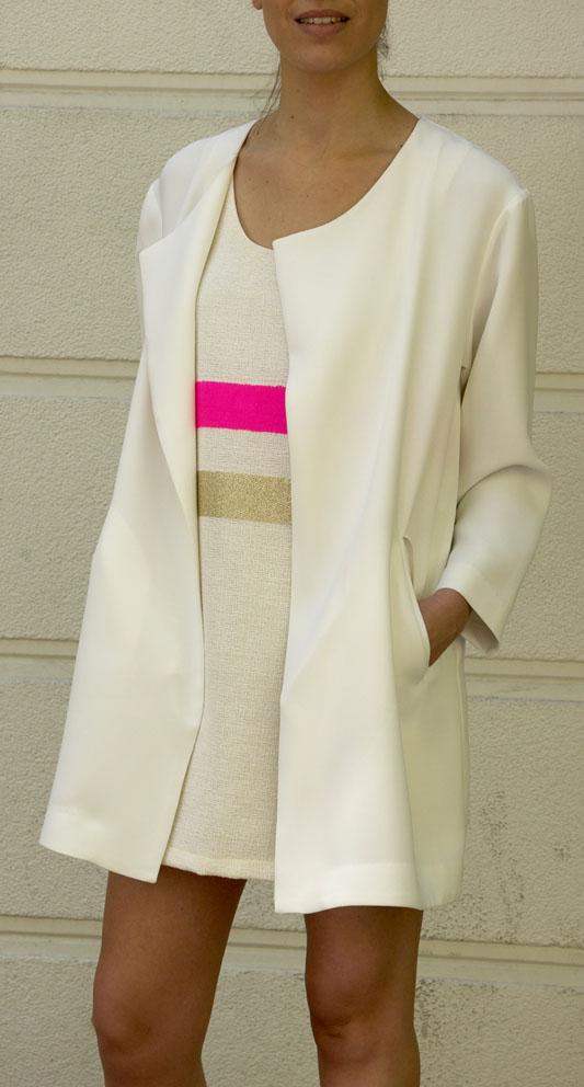 abrigo blanco-look de boda