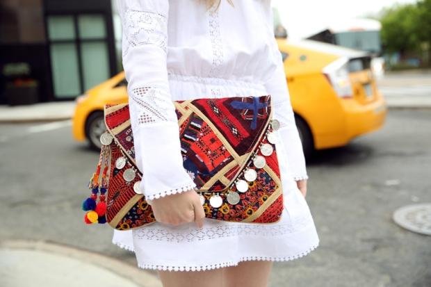 Antik-Batik-Multicolor-Banjo-Embellished-Clutch
