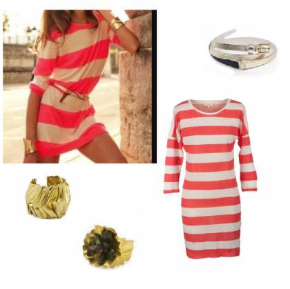 vestido-rayas-rojas-coral