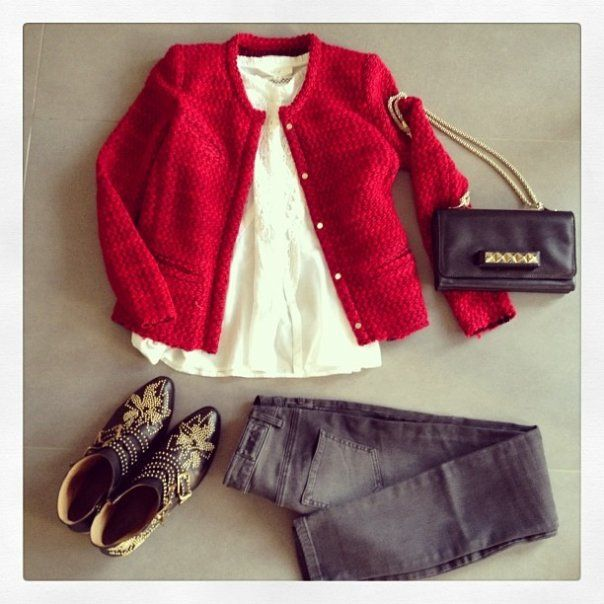look-theworkinggirl-red-blazer-black-jeans