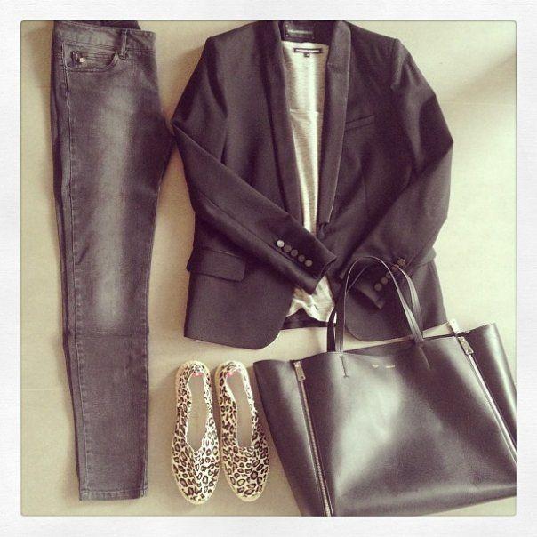 look-theworkinggirl-blazer-jeans-leopard