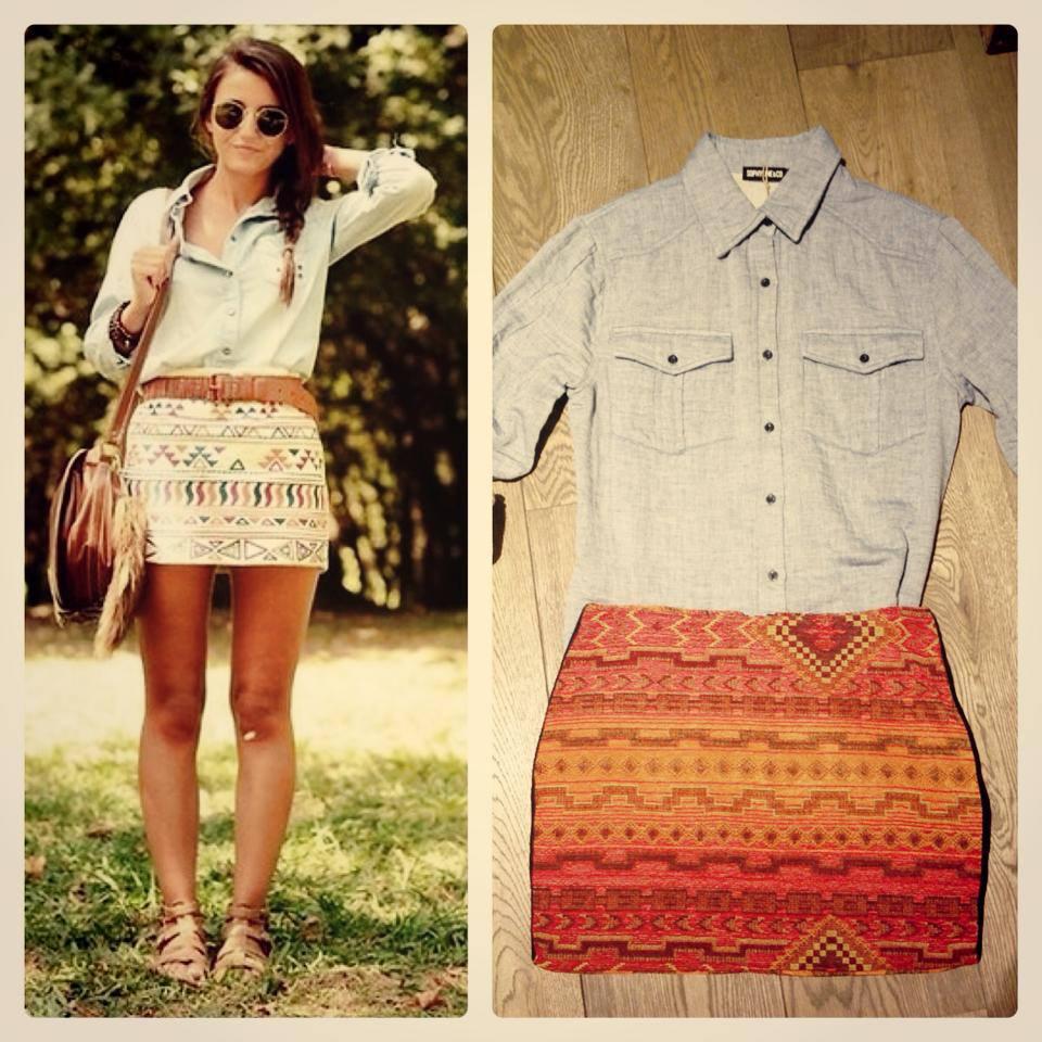 falda-etnica-camisa-denim-cosette-lovely-pepa