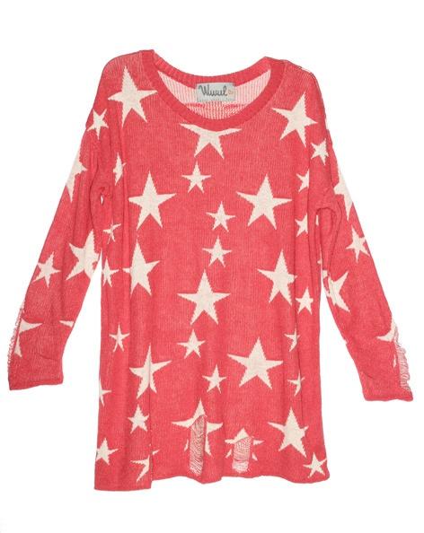jersey-sweater-wwul-rojo-estrellas