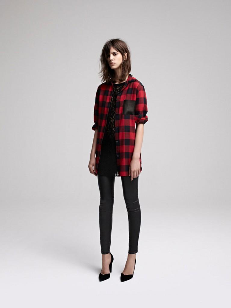 Maje-Fall-2013-2014-Tartan-stilettos