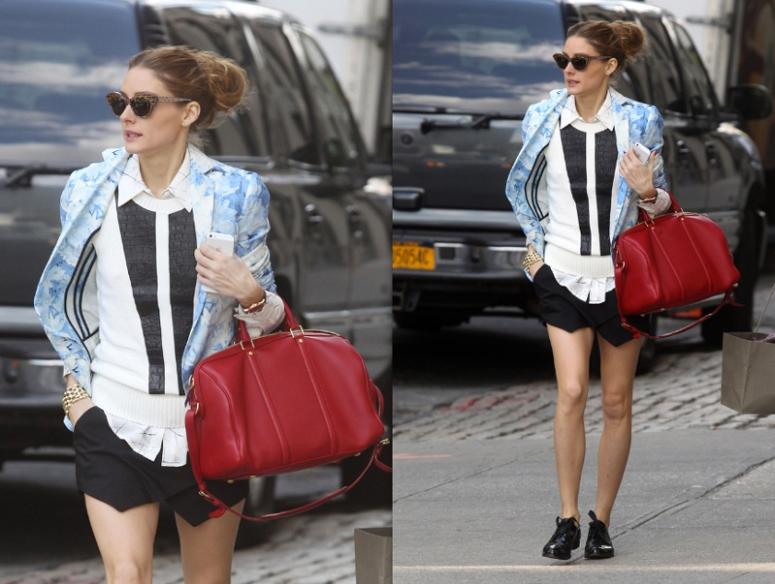 olivia-palermo-zara-skort-celebrity-street-style-trends-spring-2013-fashion-inspiration