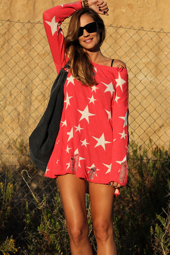 lady-addict-jersey-sweater-wwul-rojo-estrellas