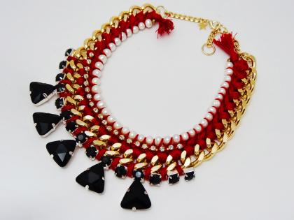 maxicollar-rojo-negro-corto-buscolook-tiendas-bilbao-comprar-online
