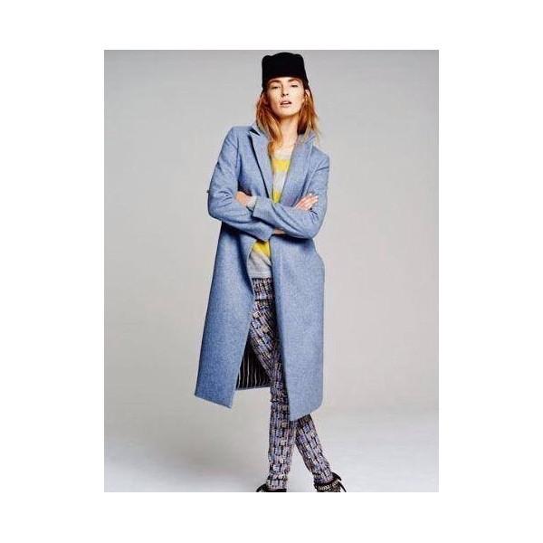 abrigo_maison_scotch_papaya_azul_corte_clasico_moda_fashion_cinturon_madrid_trendy