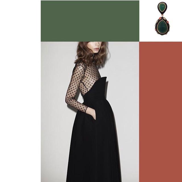 Inspiración_vestido_boda_pendientes_grandes_brillos